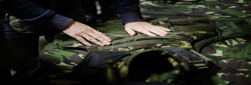 un spécialiste de la vente de vêtements militaire et d'équipements